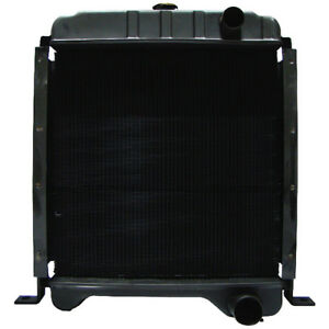 New Case Skid Steer Loader Radiator For 1840 1845c Diesel Motors 301877a2