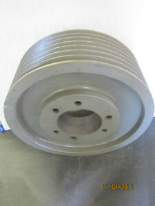 No Name 5v14 0 7 F 1770 Rpm 7 V Groove Pulley Sheave 14 O d 4 1 4 Bore New