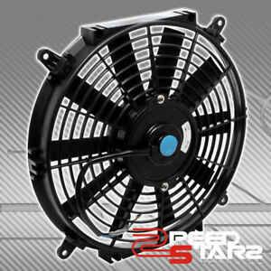 16 1550cfm Black Electric Reversible Radiator Cool Fan