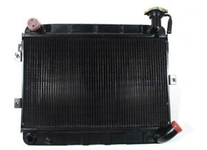 Fiat 124 Coupe Spider 1400 1600 Radiator New