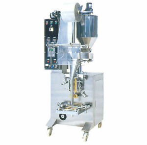 Vertical Form Fill Seal Pouch Machine
