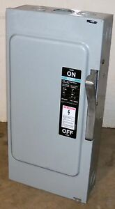Siemens Ite 100 Amp Safety Switch Cat Nf353 600 Vac 3 Pole Non Fusible