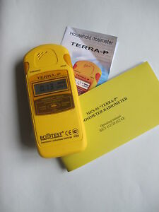 New 2011 Engl Dosimeter Terra p Radiometer With Sbm 20 Geiger Counter case