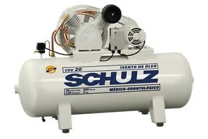 Schulz Air Compressor 3hp 60 Gallon Tank Oil Free