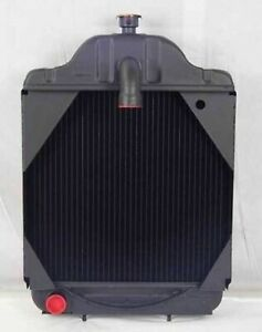A39345 Radiator Fits Case 580b Power Shift With Oil Cooler