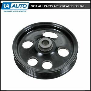 Power Steering Pump Pulley For 96 05 Ford Taurus Mercury Sable 3 0l Dohc