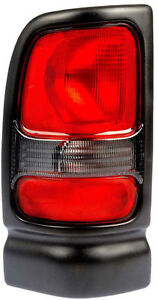 Tail Light Assembly Driver Side Left Fits 1994 2002 Dodge Ram Pickup W O Spo