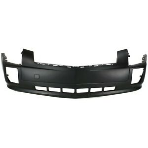 Front Bumper Cover For 2004 2009 Cadillac Srx W Fog Lamp Holes Primed