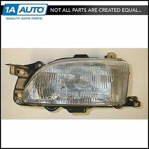 Headlight Headlamp Left Driver Side Lh For 94 96 Ford Aspire