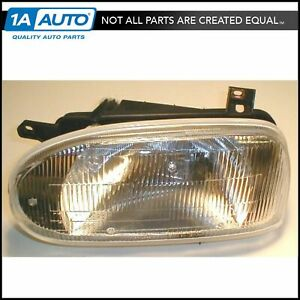 Headlight Headlamp W Single Beam Driver Side Left Lh For Vw Golf Cabrio