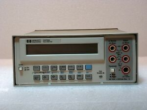 Agilent Hewlett Packard 3478a Digital Multimeter Dmm 5 5 Digit Warranty