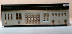Agilent Hewlett Packard 3325a W Option 01 Synthesizer Function Generator