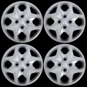Set Of 4 New 2011 2015 Ford Fiesta 15 Wheel Covers Hub Caps Full Rim Tire Hubs