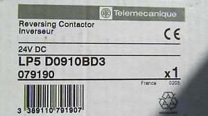 New In The Box Telemecanique Lp5d0910bd3 Reversing Contactor Free Shipping