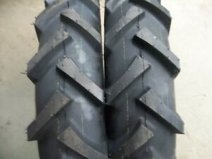 Two 600x16 600 16 6 00 16 4 Wheel Drive Climb Hills R1 Tractor Tires 6 Ply