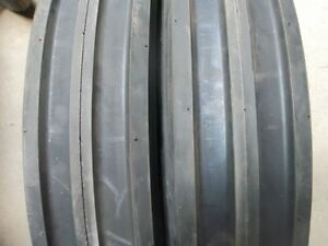 550x16 550 16 5 50x16 Ford new Holland 1720 6 Ply 3 Rib Tractor Tires W tubes
