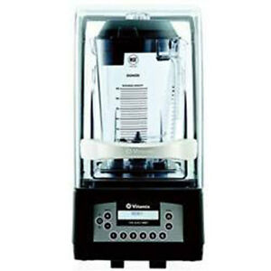 Vitamix In Counter Blender The Quiet One Blending Station 40009