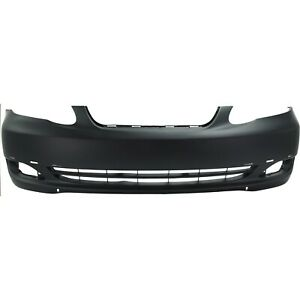 New Primered Front Bumper Cover For 2005 2006 2007 2008 Toyota Corolla S Xrs