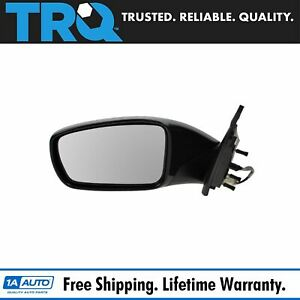 Side View Mirror Power Smooth Black Driver Left Lh For 11 13 Sonata