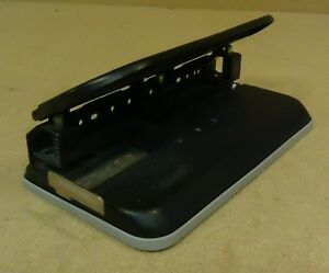Acco Large Stack 3 Hole Punch 10in X 5 1 2in X 4 1 2in Metal Rubber