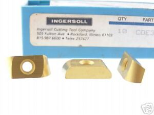 39 New Ingersoll Cde 334 R04 301 Carbide Inserts N946s