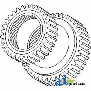 Btj370 Gear Assembly Fits Leyland Tractor 154 4 25