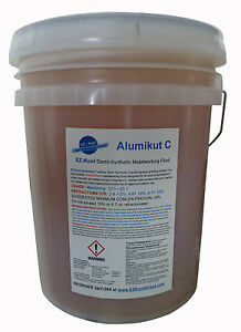 5 Gal Pail Alumikut Cnc Aluminum Metalworking Coolant For Haas Makino