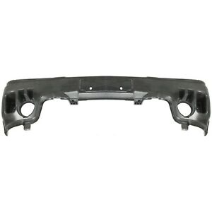 Front Bumper Reinforcement For 2002 07 Gmc Sierra 1500 Plastic Primed