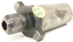 Used Universal Eng Kwik Switch 300 Series ww Double Taper Collet Chuck 80318