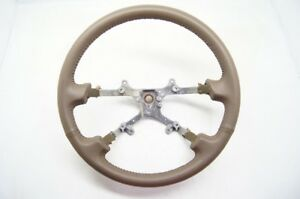 Toyota Camry 1997 2001 Steering Wheel Tan Leather Without Controls