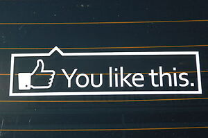 You Like This Sticker Decal Vinyl Jdm Euro Drift Lowered Illest Fatlace
