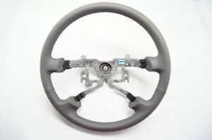 2002 2004 Toyota Camry Steering Wheel Grey Leather