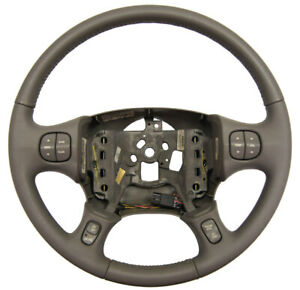 2000 2005 Buick Lesabre Steering Wheel Grey Leather New 25757141 25748179