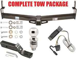 1991 1994 Ford Explorer Tow Package W Trailer Hitch Ballmount Wiring Ball