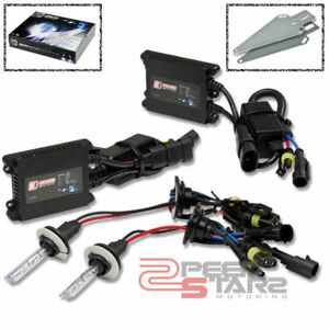 12000k Purple Hid Xenon Conversion Kit 9005 Bulbs High Beams light slim Ballast