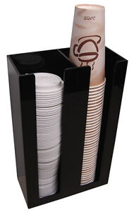 Coffee Cup Office Lid Holder Dispenser Organizer Caddy Coffee Counter Display 2s