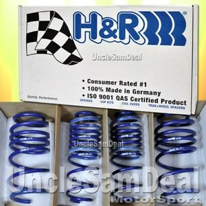 H R Lowering Sport Springs Set Ford Focus Wagon Only 1 4 F 1 3 R Drop