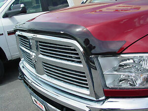 Smoke Bug Shield Wind Deflector 2010 2018 Dodge Ram 2500 3500 Hd Wade 72 94136