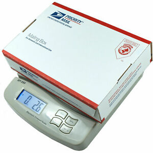 55 Lb X 0 1 Oz Digital Postal Shipping Scale V4 Weight Postage Kitchen Counting