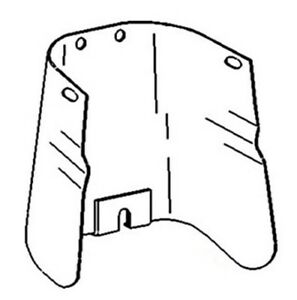 Pto Shield For Oliver Tractor 1750 1850 2050 2150
