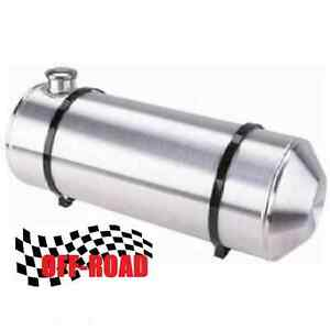 10x30 End Fill Spun Aluminum Gas Tank 10 Gallon Offroad Ratrod 1 4 Npt