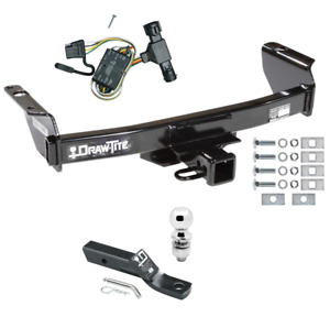 1993 1999 Ford Ranger Trailer Hitch Wiring Kit Ball Mount Tow Receiver