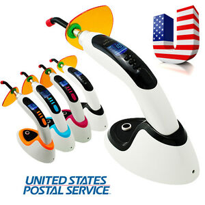 Usa 10w Dental Wireless Cordless Led Curing Light Lamp 2000mw Teeth Whitening