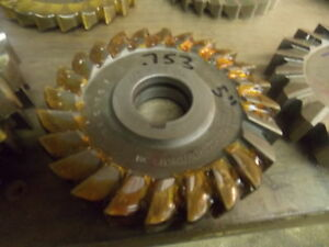 5 0 Diameter Hss 753 Slitting Side Milling Cutter