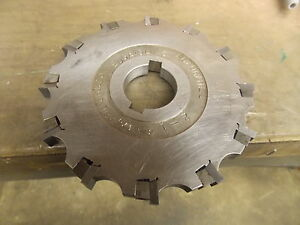 6 0 Diameter 500 Carbide Insertable Slitting Side Milling Cutter