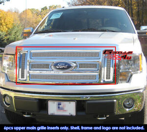 Fits 09 11 2010 2011 Ford F150 Lariat king Ranch Mesh Grille