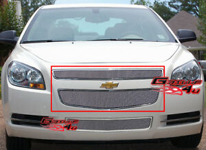 Fits 2008 2012 Chevy Malibu Stainless Steel Mesh Grille Insert