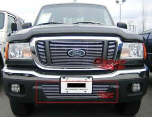 Fits 2004 2005 Ford Ranger Lower Bumper Billet Grille Insert