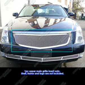 Fits 06 10 Cadillac Dts Stainless Mesh Grille Insert