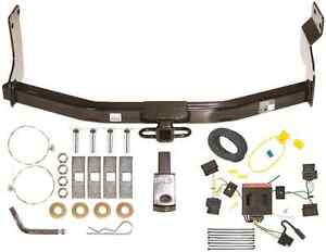 08 12 Ford Escape Trailer Hitch Wiring Kit Combo Class 2 Tow Receiver New